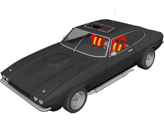 Ford Capri mk3 3D Model