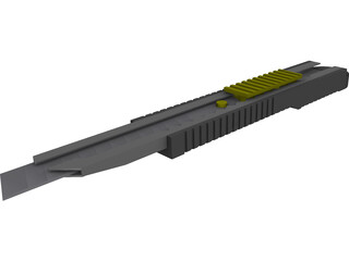 Olfa Stanley Knife fwp-1 3D Model
