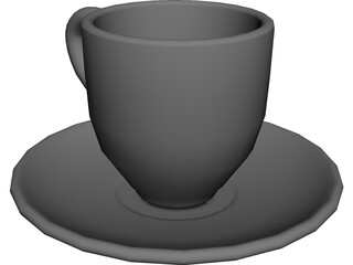 Cup Coffee 3D Model
