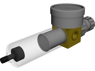 Air Regulator 3D Model