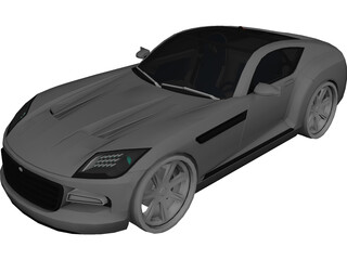 Chrysler Firepower Concept 3D Model