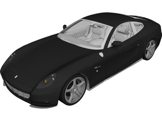 Ferrari 612 Scaglietti 3D Model 3D Preview