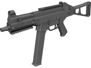 Heckler&Koch UMP 3D Model