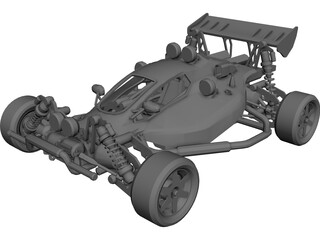Xcalibur Rally Buggy 3D Model