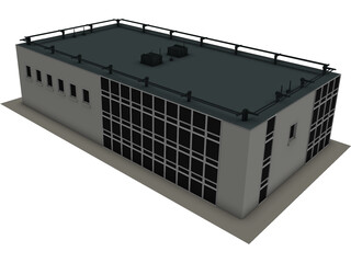 Small Office 3D Model