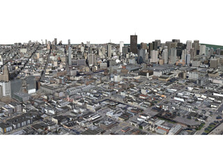 San Francisco City (USA) (2013) 3D Model