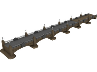Bridge 3D Model 3D Preview