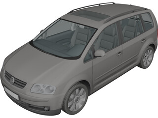 Volkswagen Touran (2003) 3D Model