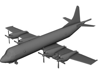 Lockheed P-3K Orion (RNZAF) 3D Model