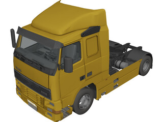 Volvo FH16 3D Model 3D Preview