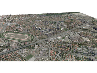 Toulouse City (France) [Part 3/4] 3D Model