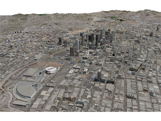Los Angeles City (USA) (2013) 3D Model