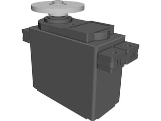 Hitec HS-322HD Servo CAD 3D Model