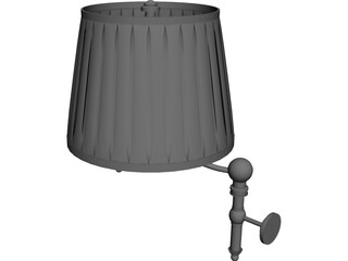 Classic Wall Lamp 3D Model