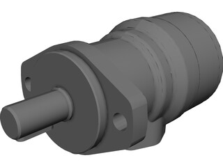 Hydraulic Motor OMR 100 3D Model 3D Preview