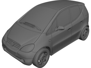 Mercedes-Benz A-class 3D Model
