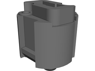 G9 Socket for Lamps CAD 3D Model