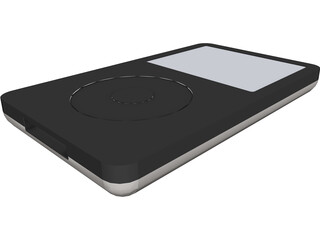 Apple iPod Classic (5th gen) CAD 3D Model