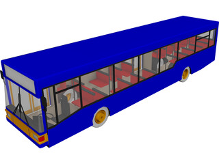 MAN Bus NL202 3D Model