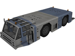 Airline Hauler 3D Model 3D Preview