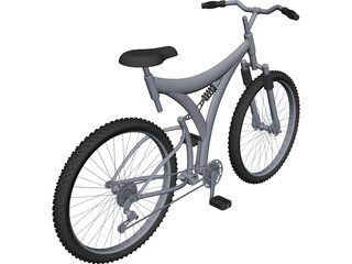 Bike Mountain CAD 3D Model