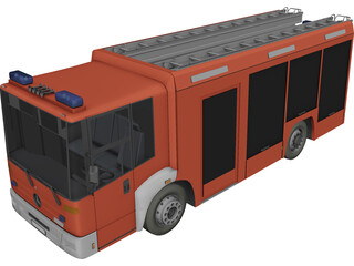 Mercedes-Benz Econic Hannover 3D Model