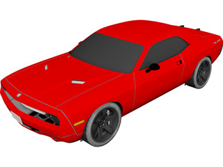 Dodge Challenger RT 3D Model