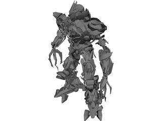 Transformers Movie Megatron 3D Model