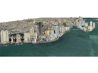 Miami City (USA) (2013) 3D Model