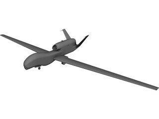 Northrop Grumman RQ-4 Global Hawk 3D Model