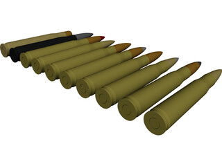 Ammo Pack 3D Model 3D Preview