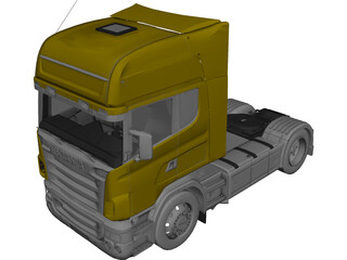 Scania 580 (2005) 3D Model 3D Preview