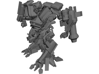 Transformers Movie IronHide 3D Model