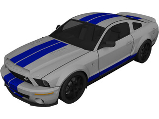 Ford Mustang Shelby GT 3D Model