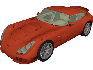 TVR Sagaris (2006) 3D Model