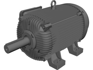 Motor 150hp [NURBS] 3D Model