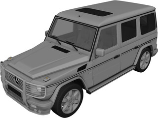 Mercedes-Benz G-class 3D Model