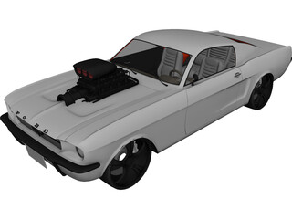 Ford Mustang (1963) [Charged] 3D Model