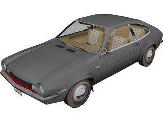 Ford Pinto 3D Model