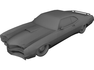 Mercury Cyclone 3D Model