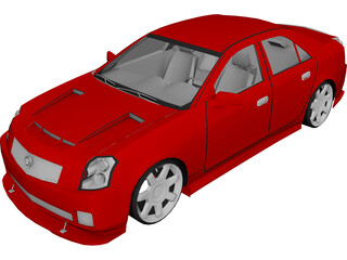 Cadillac CTS [Tuned] 3D Model