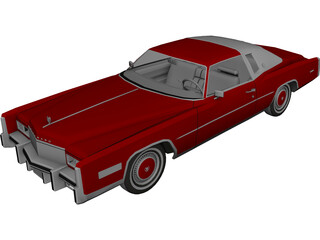 Cadillac Eldorado (1978) 3D Model 3D Preview