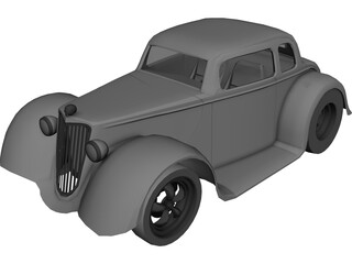 Ford Hot Rod (1930) 3D Model