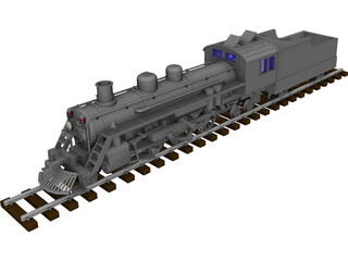 Steamlocomotive 3D Model