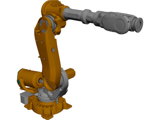 ABB IRB6640 Robot 3D Model 3D Preview