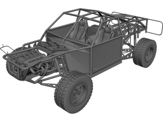 Champ Truck Chassis 3D Model
