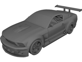 Ford Mustang GT-R Concept 3D Model