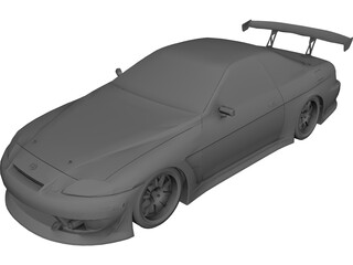 Toyota Soarer [Tuned] 3D Model