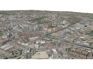Southampton City (UK) 3D Model