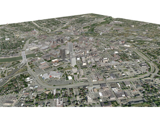 Rochester City 3D Model